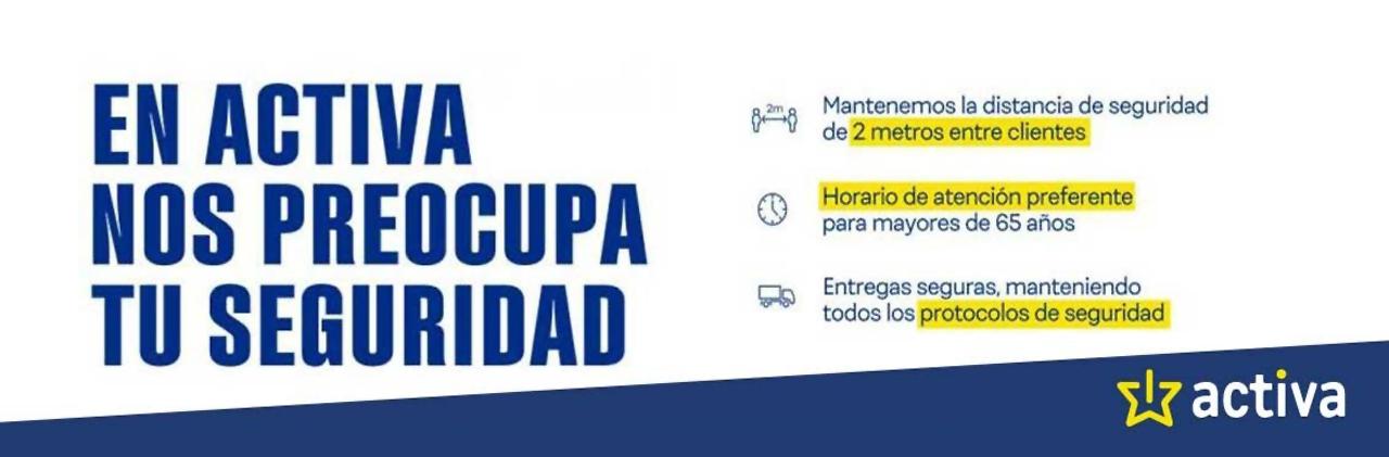 TIENDAS ACTIVA - Tienda segura 2